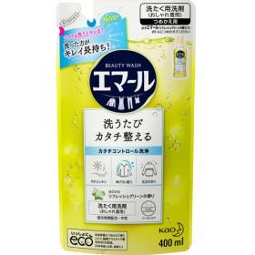 エマール 洗濯洗剤 リフレッシュグリーンの香り 詰め替え (400mL)