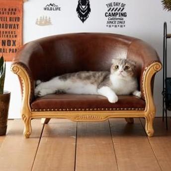 アンティーク調チェア(猫用ソファー)