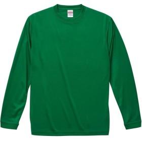 UnitedAthle ユナイテッドアスレ 4 . 7オンス ドライシルキータッチ ロングスリーブTシャツ 508901X グリーン