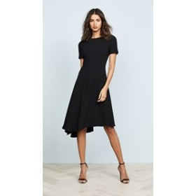 ブラックハロー ドレス ミディドレス  レディース【Black Halo Olcay Asymmetrical Dress】Black