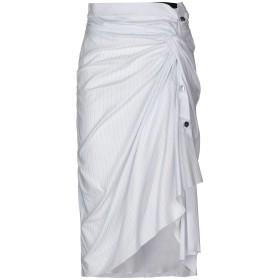 《期間限定 セール開催中》ACT n°1 レディース 7分丈スカート ホワイト 44 コットン 100% / ナイロン