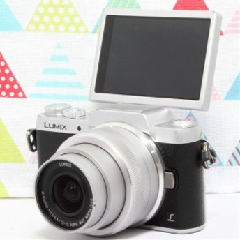 LUMIX 大人気GF7シリーズ ルミックス GF7 シルバー レンズキット ミラーレス一眼カメラ