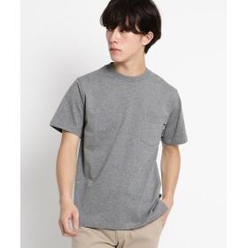 【30%OFF】 ベースステーション Tシャツ メンズ クルーネック ポケット 半袖Tシャツ メンズ ブラック系(015) 01(S) 【BASE STATION】 【タイムセール開催中】