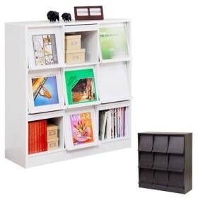 ■在庫限り・入荷なし■本棚 ディスプレイラック 3列3段 ( シェルフ 書棚 )