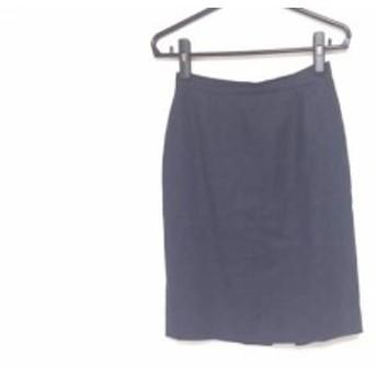 モスキーノ チープ&シック MOSCHINO CHEAP&CHIC スカート サイズI42 M レディース ダークネイビー【中古】