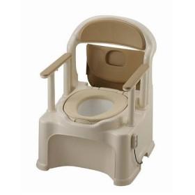 ■在庫限り・入荷なし■ポータブルトイレ きらく PY型 やわらか便座 脱臭器付