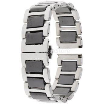 22mm 豪華な セラミック ステンレス鋼 時計バンド 交換用ストラップ 全6色 - 6
