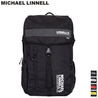 マイケルリンネル MICHAEL LINNELL リュック バッグ 30L メンズ レディース バックパック BIG BACKPACK ML-008