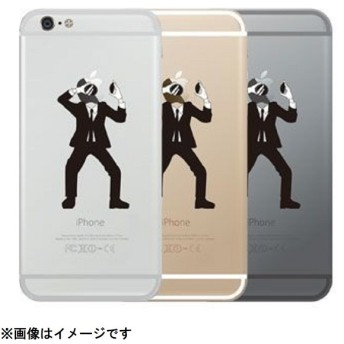 iPhone 6s/6用 Applus(アップラス) ハードクリアケース 林檎泥棒