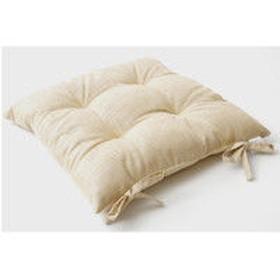 イケヒコ クッション 椅子用 シート 無地 シンプル 『モカ』 ベージュ 約43×43cm 1セット(2個入り) (直送品)