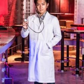 コスプレ コスチューム一式 プレイドクター 医者 メンズ メンズ ドクター 医者 白衣 ハロウィン UNFT-0205H