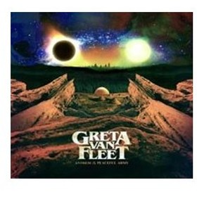 Greta Van Fleet Anthem Of The Peaceful Army (Black Vinyl) LP