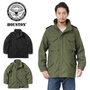 HOUSTON ヒューストン 50815 M-65 フィールドジャケット ライナー付き メンズ ミリタリージャケット アウター ジャンパー ブルゾン ブランド 新作