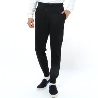 パンツ メンズ ズボン メンズ 裏毛ジョガーパンツ 「ブラック」