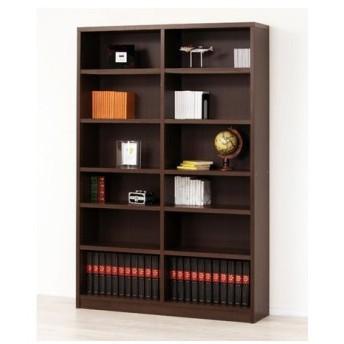 本棚 強化棚シェルフ 幅119×高さ180cm ( シェルフ 書棚 壁面収納 )