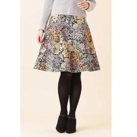 PROPORTION BODY DRESSING / プロポーションボディドレッシング  ゴブランジャガードフレアースカート