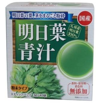 新日配薬品 九州産明日葉青汁40包 3g×40包