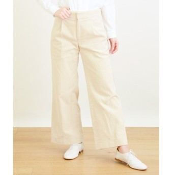 NIMES / ニーム special corduroy WIDE LEG TROUSERS