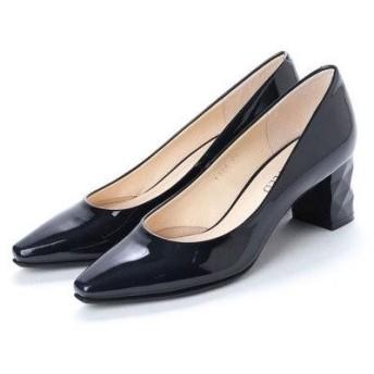 アンタイトル シューズ UNTITLED shoes パンプス (ネイビーエナメル)