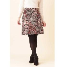 PROPORTION BODY DRESSING / プロポーションボディドレッシング  ゴブランジャガード台形スカート