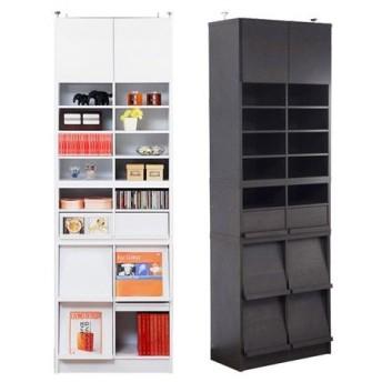 ■在庫限り・入荷なし■本棚 ディスプレイラック 2列フルセット CDフラップ ( シェルフ 書棚 )