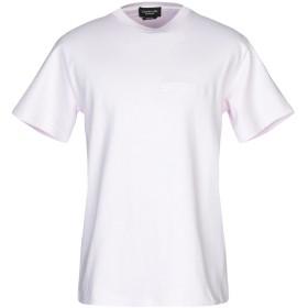 《期間限定セール開催中!》CALVIN KLEIN 205W39NYC メンズ T シャツ ライトピンク XS コットン 100%