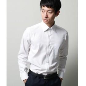 THE SHOP TK / ザ ショップ ティーケー 【抗菌防臭】市松ドビーワイドカラーシャツ