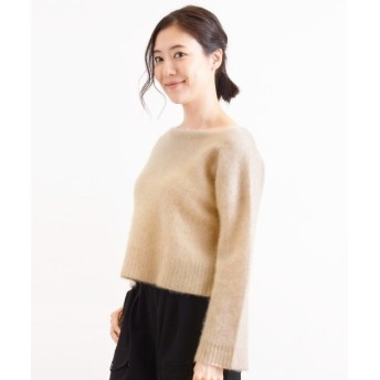 NIMES / ニーム 12G/7G CASHMERE WIDE/S TOP