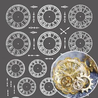 TSUMEKIRA ツメキラ レジンクラブ 時計文字盤 ホワイト RC-CLF-101