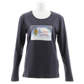 スウィベル(Swivel) LIVE FREE 長袖Tシャツ 870SW8CD3393 GRY (Lady's)