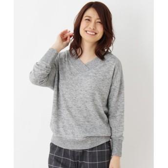 SHOO・LA・RUE / シューラルー Vネックニットソー プルオーバー