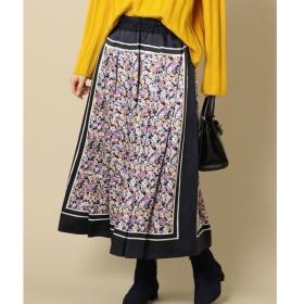 SHIPS for women / シップスウィメン PrimaryNavyLabel:フラワープリントスカート