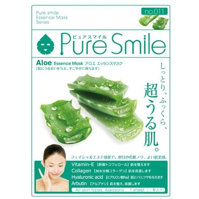 Pure Smile(ピュアスマイル)/アロエエキス フェイス用シートパック・マスク