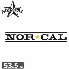ノーカル NOR CAL ステッカー LOGO STICKER 8.3cm x 53.5cm NO23
