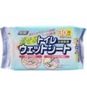 単品販売【トイレワイパーウェットシート 30枚入】[代引選択不可]