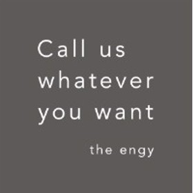 ★ CD / the engy / Call us whatever you want
