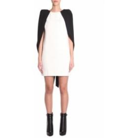 ジバンシィ ドレス カジュアルドレス 結婚式用 レディース【Givenchy Mini Cape Dress】AVORIO