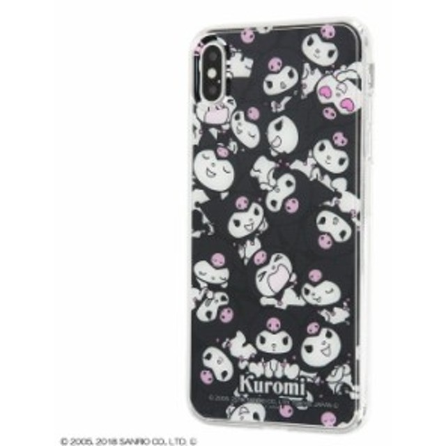 iPhone XS MAX ケース クロミちゃん グッズ サンリオ TPUケース+背面パネル クロミ /ぎゅ~! iphonexs MAX カバー