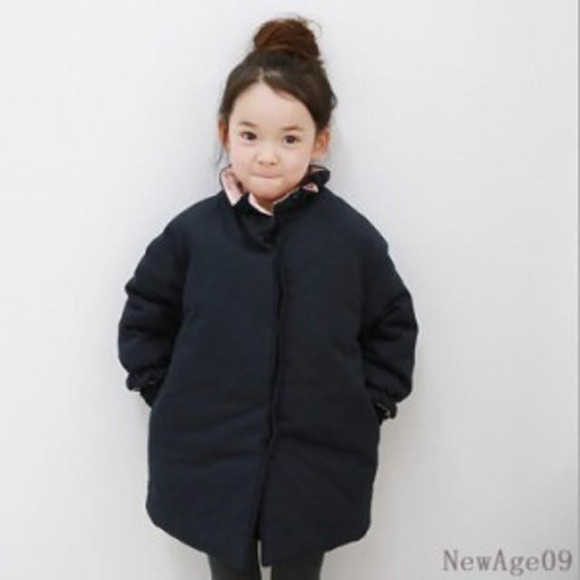 9626ad42e66d1 コートアウター 子供服 女の子 ダウンコート風 、ジャンパー、中綿コート、厚手 トップス