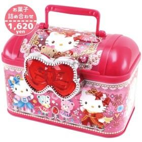 HT75053/ハート/【Christmas Gift Item/クリスマスギフトアイテム】ハローキティハンドケース(お菓子詰め合わせ)/駄菓子/スナック