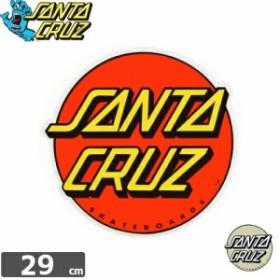 サンタクルーズ SANTACRUZ スケボー ステッカー CLASSIC DOT 2色 28cm x 29cm NO32