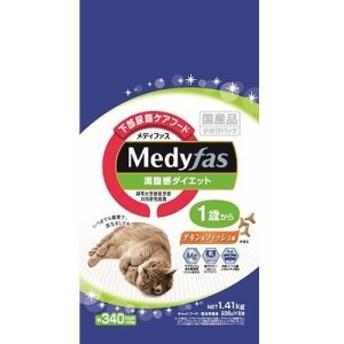 メディファス 満腹感ダイエット1歳から チキン&フィッシュ味 1.41kg(235g×6)