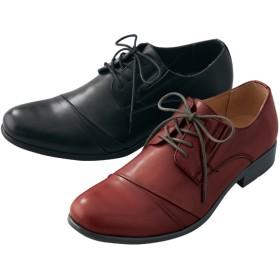 【格安-男性靴】メンズシューレースタイプビジネスシューズ