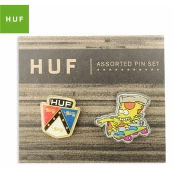HUF ハフ スケボー ピンバッジ PINS SET 20mm & 25mm NO2
