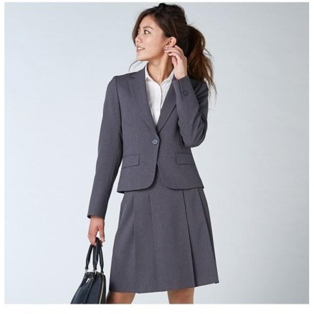 ラージサイズ登場!美人度UP洗えるスカートスーツ (大きいサイズレディース)スーツ,women's suits ,plus size