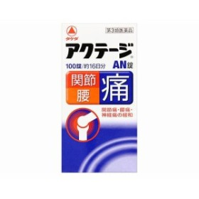 武田薬品工業 アクテージAN錠 100錠【第3類医薬品】