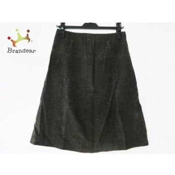 アニエスベー agnes b スカート サイズ38 M レディース ダークブラウン スペシャル特価 20190517【人気】