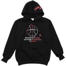 CONVERSE(コンバース)バスケットボール ジュニア スウェット JRスウェットパーカー CB482201-1900 ジュニア BLK