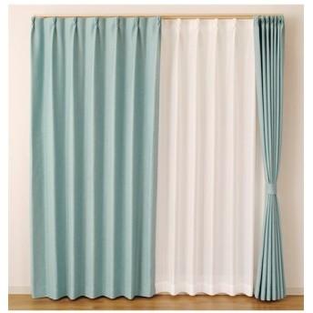 【送料無料!】カジュアルカーテン ドレープカーテン(遮光あり・なし) Curtains, blackout curtains, thermal curtains, Drape(ニッセン、nissen)