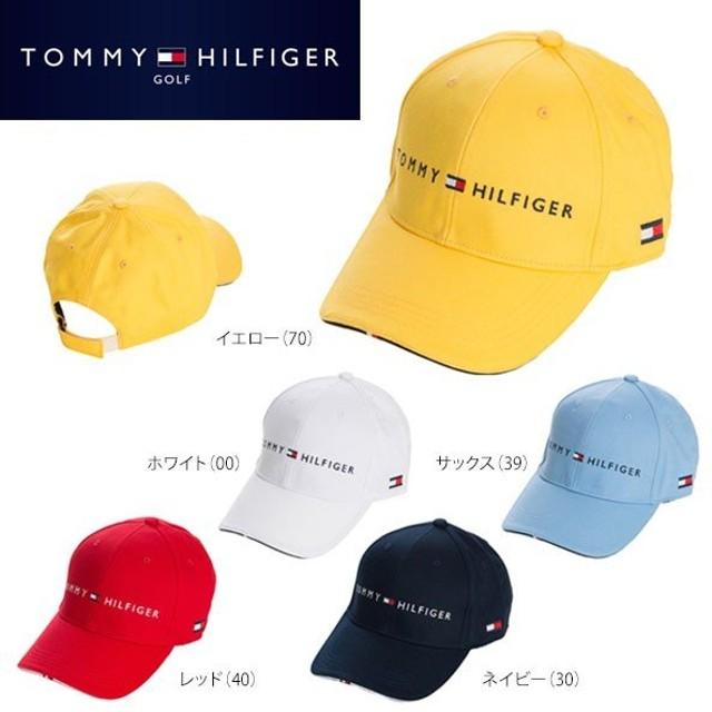 トミー ヒルフィガー ゴルフ ロゴキャップ THMB7DAF ゴルフウェア [有賀園ゴルフ]